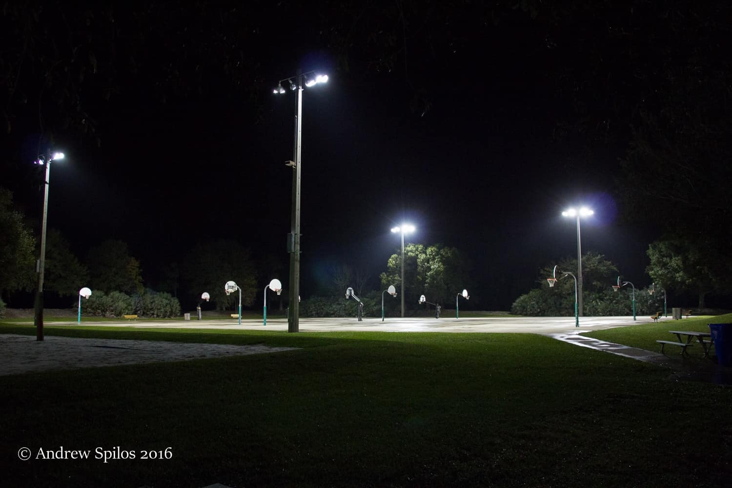 road lights in South Florida